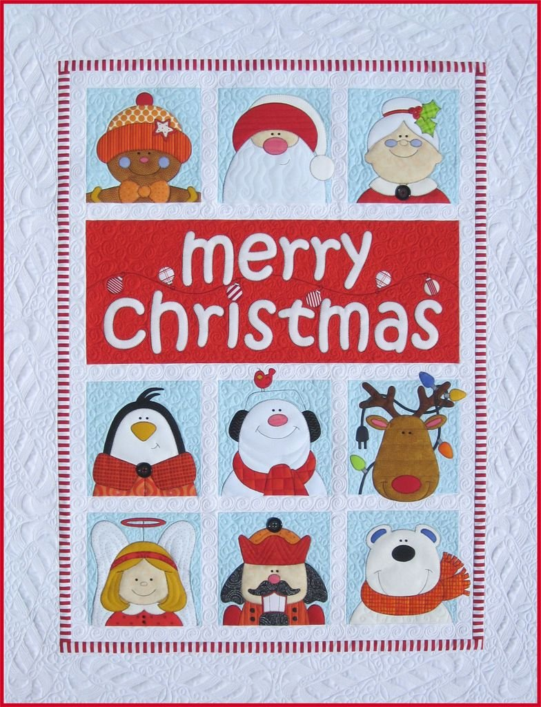 Merry Christmas Quilt Epattern by Amy Bradley Designs