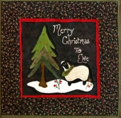 Merry Christmas to Ewe by Calico Patch Designs