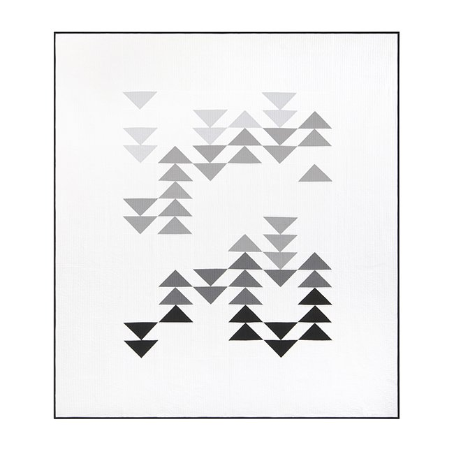 Migration Quilt Pattern in 3 Sizes by Initial K Studio