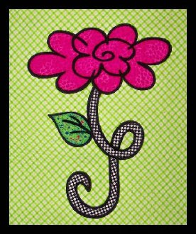 Miss Priss Wallhanging Pattern by Another by Anita