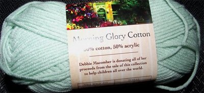 Morning Glory Cotton DK - Blossom Street Collection by Debbie Macomber