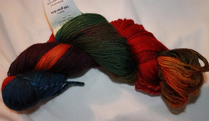 Mountain Colors River Wash Rainbow Yarn