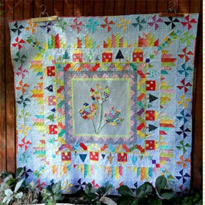 Mountain Home Quilt Pattern by Aunt Em's Quilts