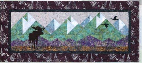 Mountain Peaks Wallhanging Pattern by Wildfire Designs Alaska