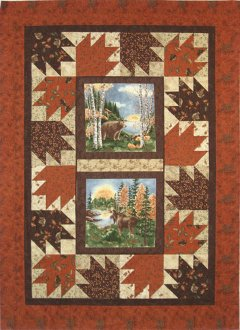 Around the Block Quilt Pattern by Mountainpeek Creations