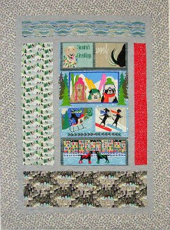Awry Quilt Pattern by Mountainpeek Creations