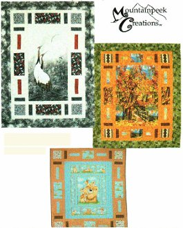 Cubby Holes Quilt Pattern in 3 Different Styles by Mountainpeek Creations