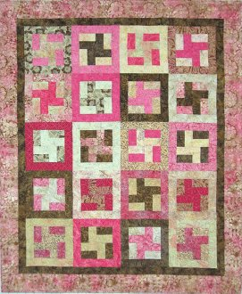 Cubed Quilt Pattern by Mountainpeek Creations