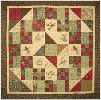 Forest Grove Quilt Pattern by Mountainpeek Creations