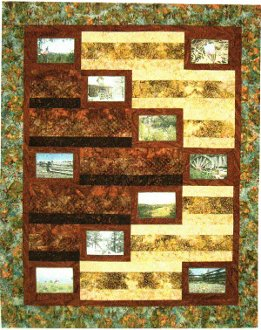 Harmony Quilt Pattern by Mountainpeek Creations
