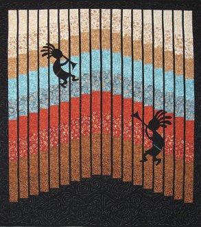 Krazy Kokopelli Quilt Pattern by Mountainpeek Creations