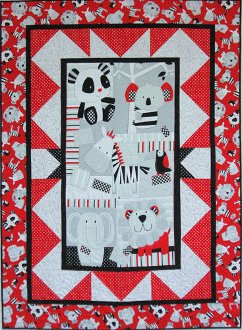 Middle Ground Quilt Pattern by Mountainpeek Creations