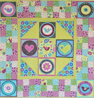 Patches of Joy Quilt Pattern by Mountainpeek Creations