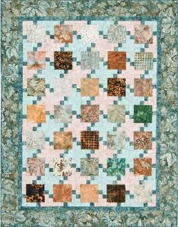 Pixelated Quilt Pattern by Mountainpeek Creations