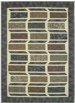 Slideways Quilt Pattern by Mountainpeek Creations