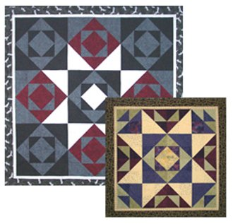 Star Treck Quilt Pattern in 2 Sizes by Mountainpeek Creations