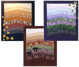 Strips For All Seasons Minis Pattern by Mountainpeek Creations