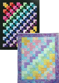 Sweet Sixteen/Easy Eight Baby Quilt Pattern by Mountainpeek Crea