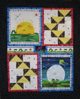 Wednesday Quilt Pattern by Mountainpeek Creations
