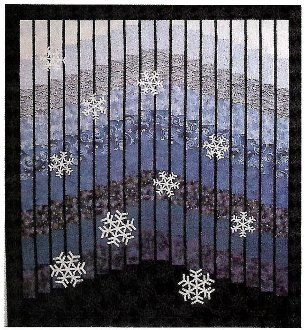 Winter Blues Quilt Pattern by Mountainpeek Creations
