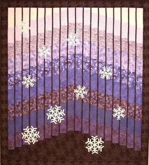 Winter Blues Quilt Pattern by Mountainpeek Creations