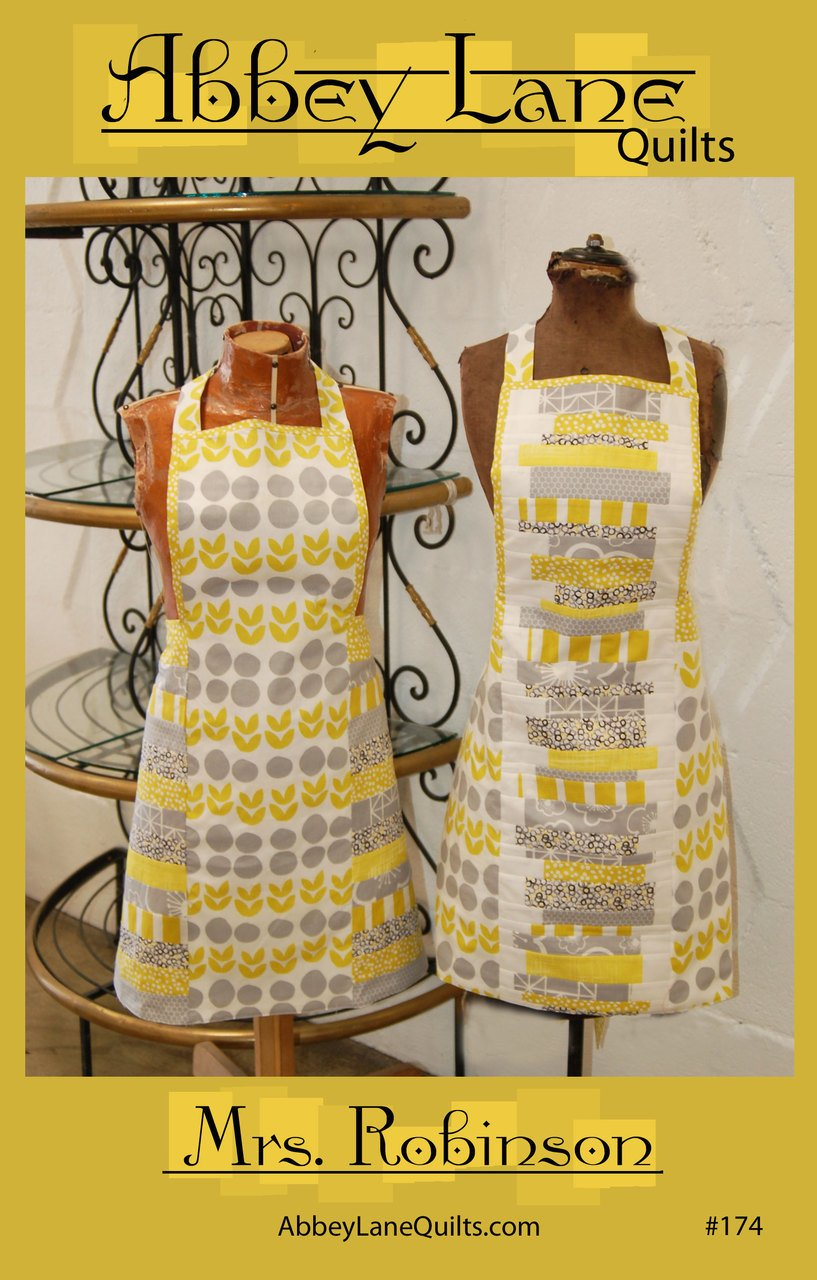 Mrs Robinson's Reversible Apron Pattern by Abbey Lane Quilts