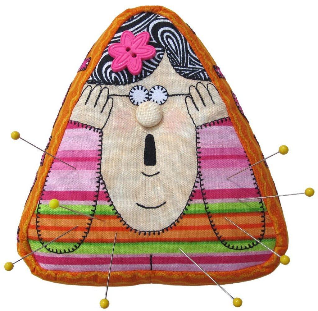 Ms Pinny Pincushion Epattern by Amy Bradley Designs