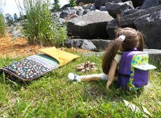 My Camping Gear Pattern for 18 Dolls by Sisters' Common Thread
