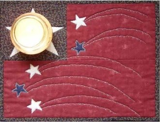 A Hero's Light Candlemat Pattern by Nestlings by Robin