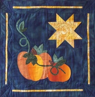 Harvest Nights Wallhanging Pattern by Nestlings By Robin