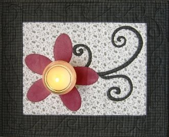 Spring Fling Candle Mat Pattern by Nestlings by Robin
