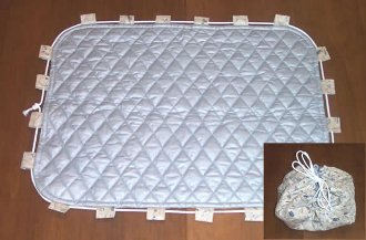 Hot Iron Carrier/Ironing Mat Pattern by Nancy Dill