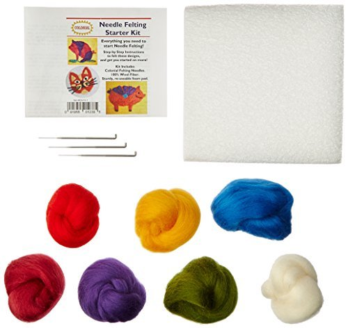 Colonial Needle Felting Starter Kit
