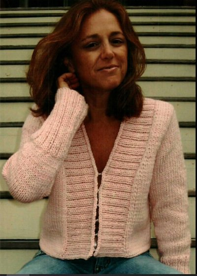 Newport Hand Knitted Cardigan Pattern by Dolce Hand Knits