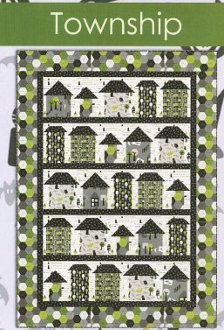 Township Quilt Pattern by Needle in a Hayes Stack