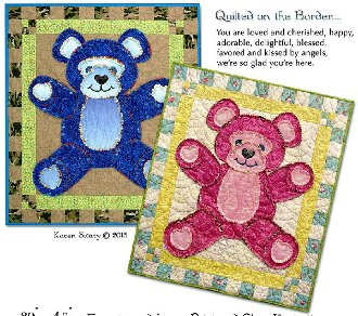 Bear Buddy Baby Quilt Pattern by Northern Belle