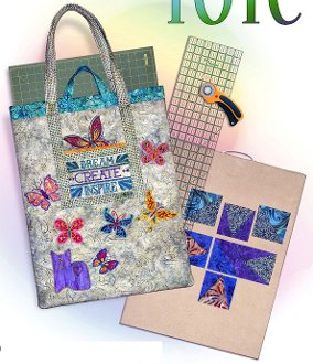 Design Tote Bag Pattern from Northern Belle