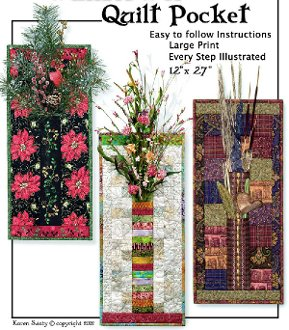 Wallflower Quilt Pocket Pattern by Northern Belle