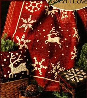 Reindeer Frolic Quilt Pattern by Needl Love