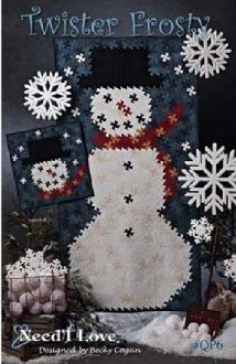 Twister Frosty Wallhanging Pattern by Needl Love