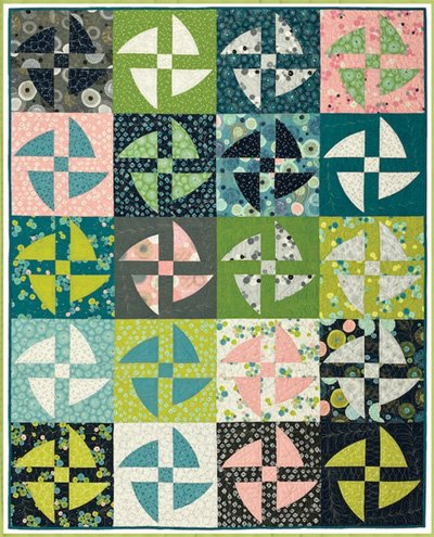 Nocturnal Quilt Pattern in 3 Sizes by Everyday Stitches