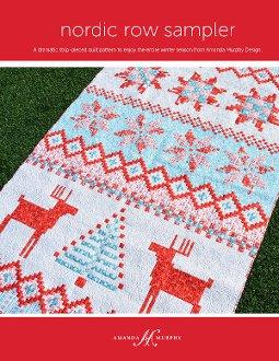 Nordic Row Sampler Quilt Pattern by Amanda Murphy