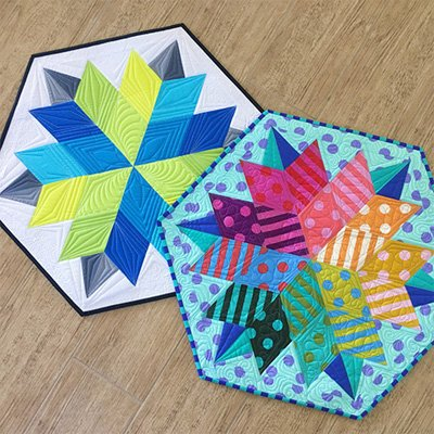 Nova Table Topper Pattern by Jaybird Quilts