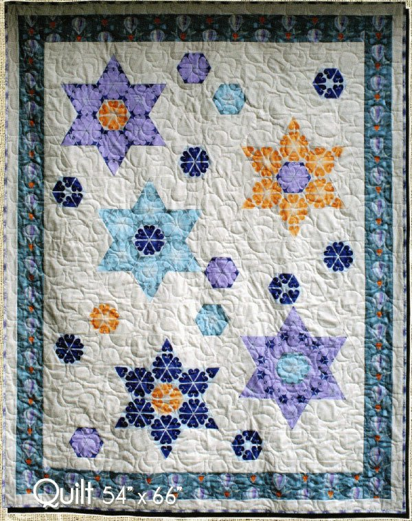 Arctic Flower Quilt Pattern by Northern Quilts