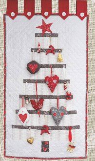 Calendar Tree Quilt Pattern by Northern Quilts