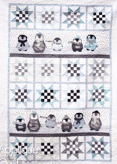 Penguin Winter Quilts By Northern Quilts