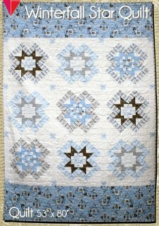 Winterfall Star Quilt Pattern by Northern Quilts