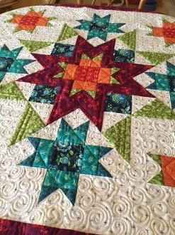 More Than Stars Wallhanging Pattern in 2 Sizes by Nancy Rink Design