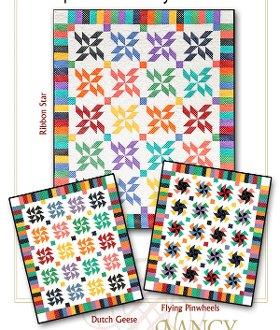Strip It Three Ways Quilt Series 3 by Nancy Rink Designs