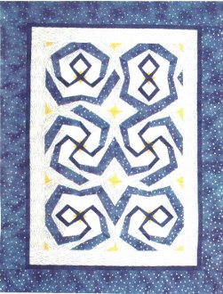 Spindizzy Quilt Pattern by Needlesongs